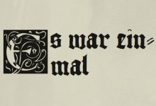 Kinderbuch Typografie